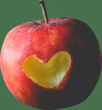 Crisp apple website development take a bite