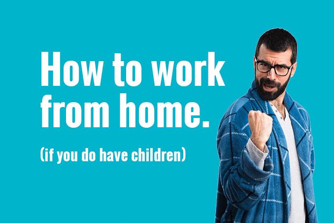 CrispApple Blog 'how to work from home - if you have kids' 678x4522
