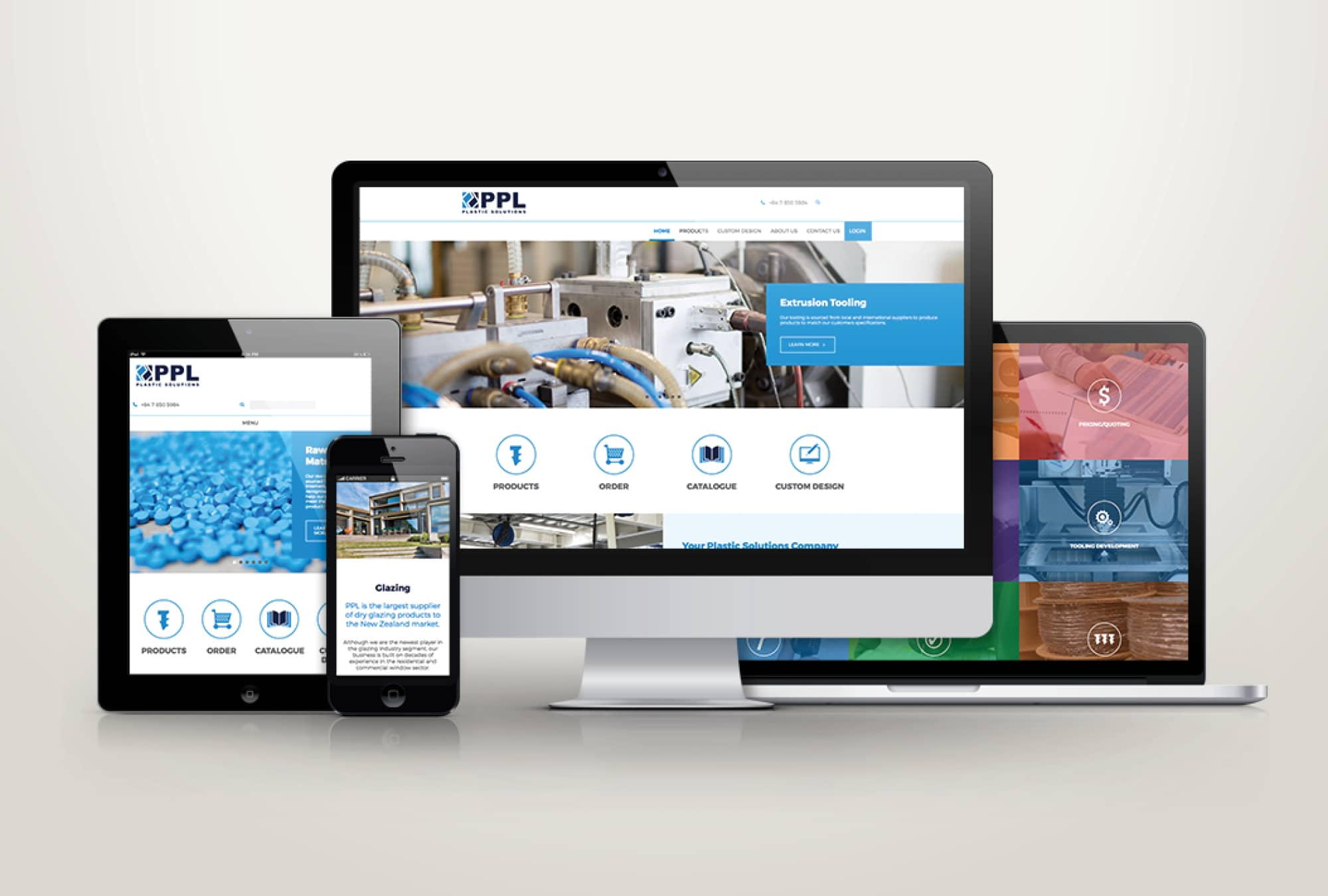 PPL Plastic Solutions website Hamilton 1600 x1080